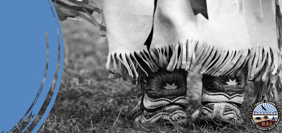 Feet in traditional Native footware